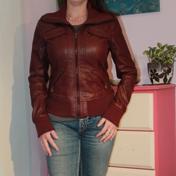 Ci Sono Jackets & Blazers - CI Sono Vegan Leather Pleather Jacket